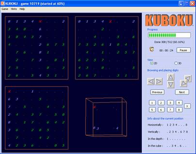 Kuboku : le sudoku 3D